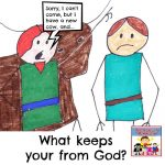 What keeps you from God?