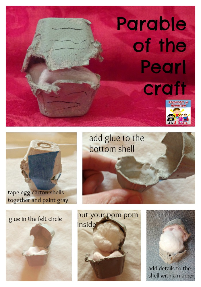 parable of the pearl craft