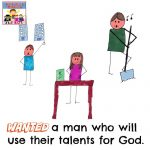 How will you use your talents?