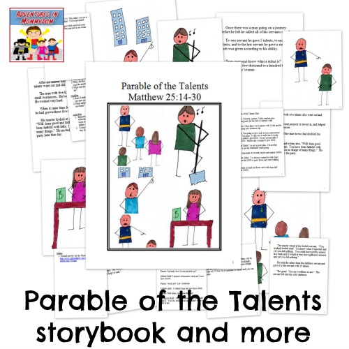 parable of the talents storybook