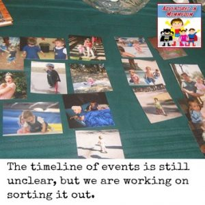 Introducing timelines to preschool