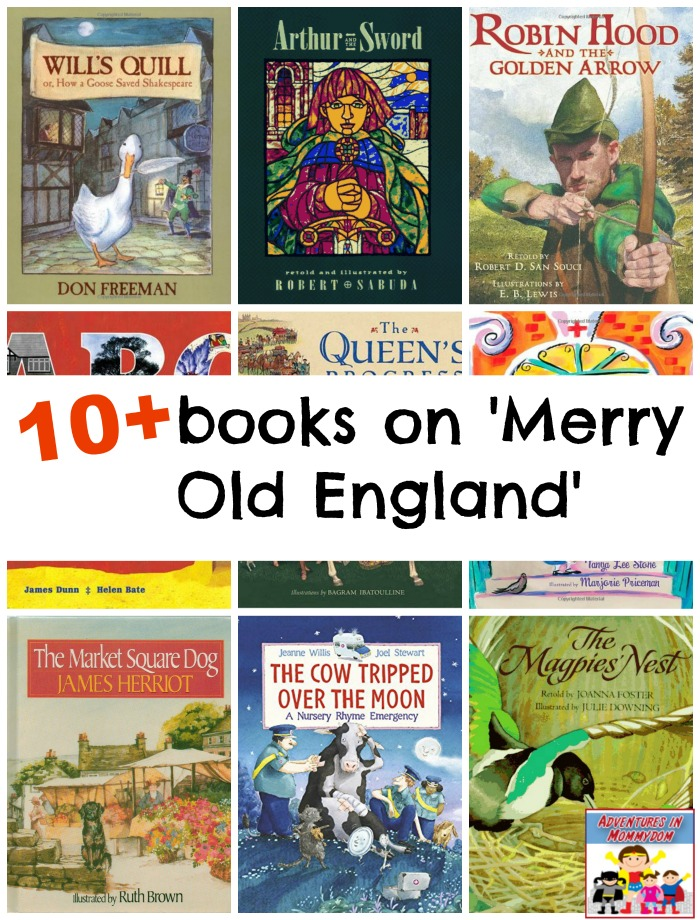 picture books about England