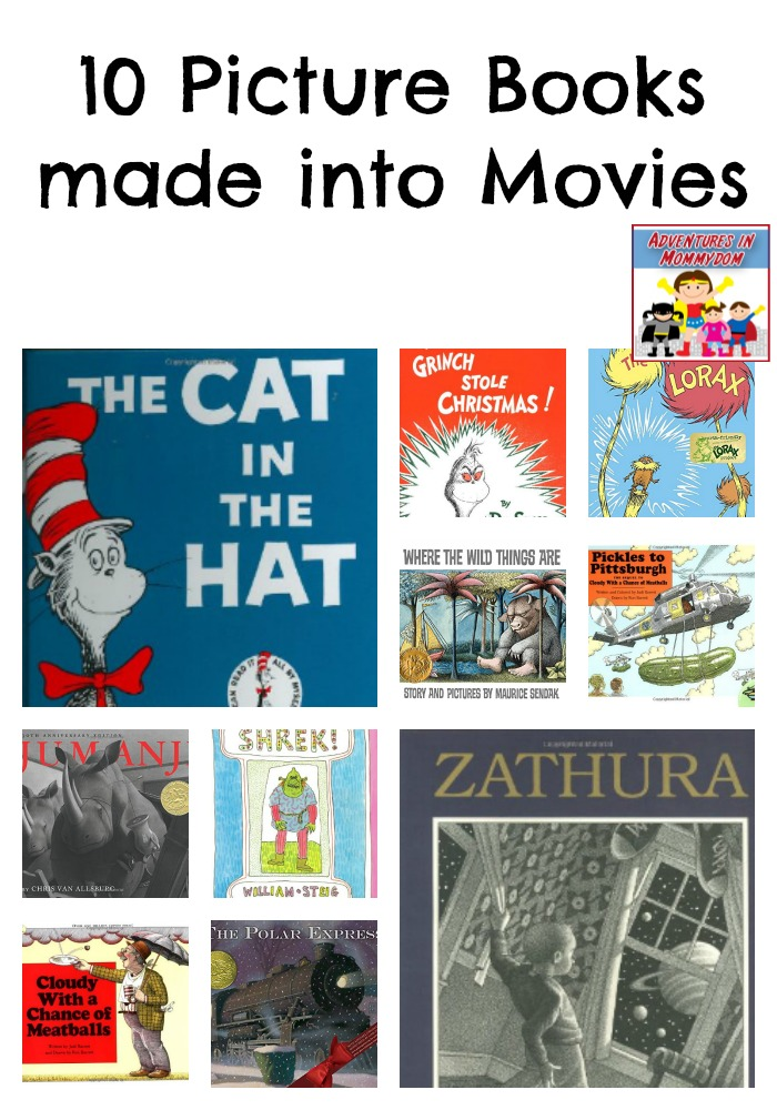 picture books made into movies