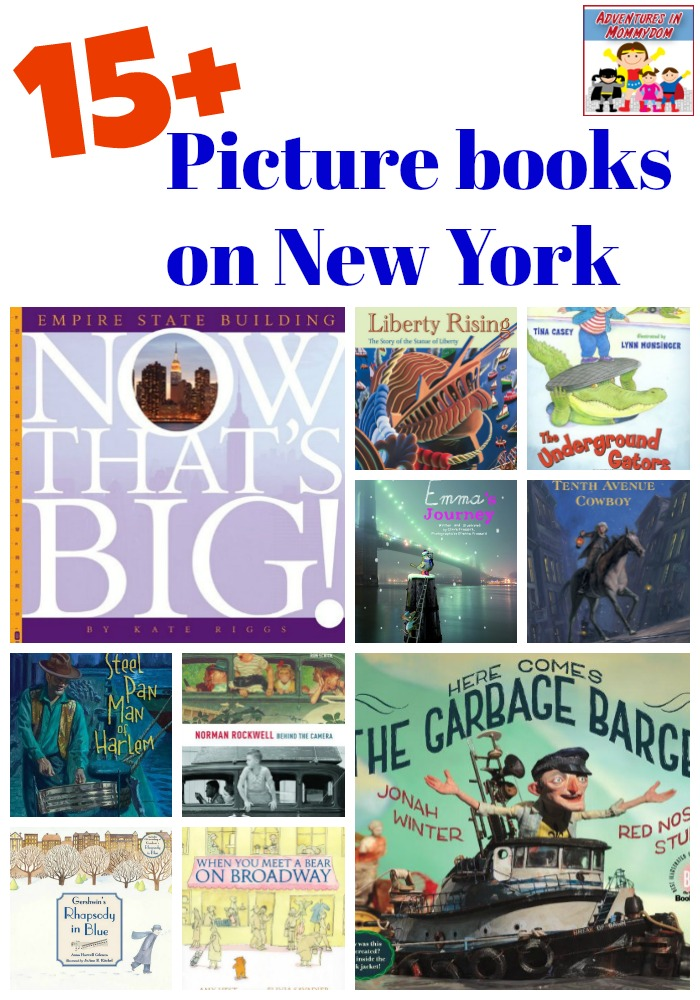 picture books on New York