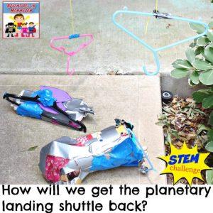 planetary landing shuttle retrieval STEM challenge