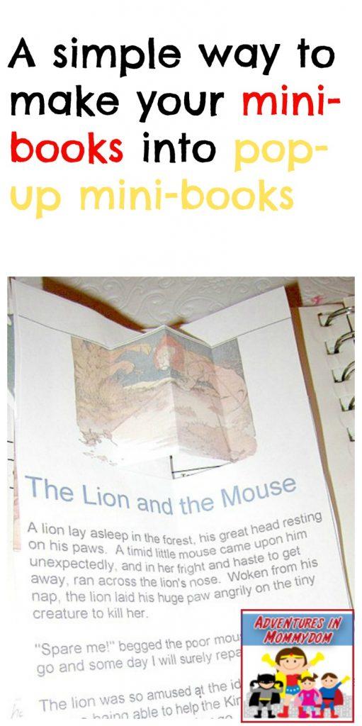 pop-up mini books