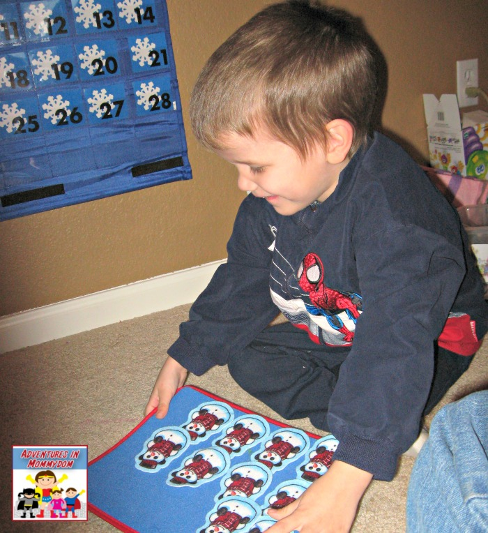 preschool calendar time counting