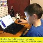 programming for middle school