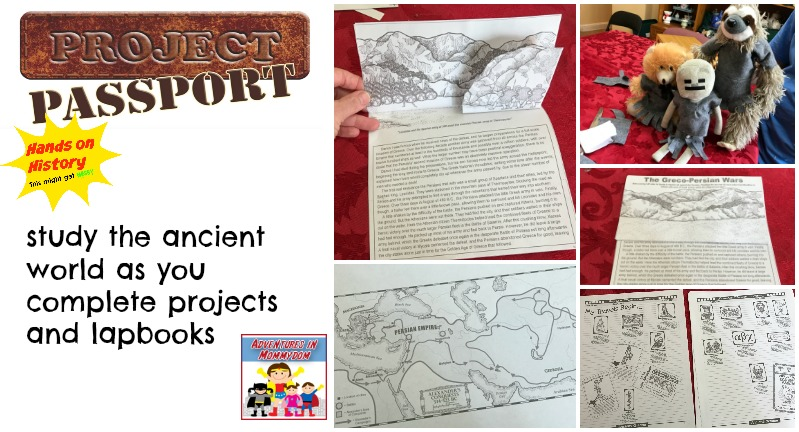 project passport ancient history hands on learning curriculum