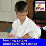 proper procedures for science