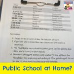 Pack your bags, it's time for simulated public school
