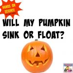 pumpkin sink or float
