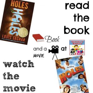 read Holes and watch the movie 4th