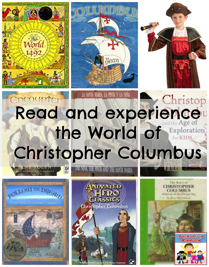 read the world of Christopher Columbus with these books