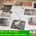 reading a map lesson for me on the map kinder preschool primary