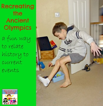 recreating the ancient olympics