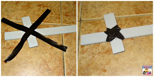 reinforce roman sword craft with tape