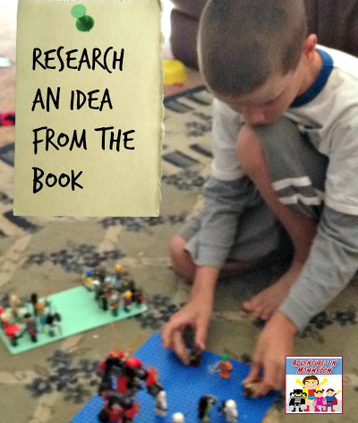 research an idea from the book