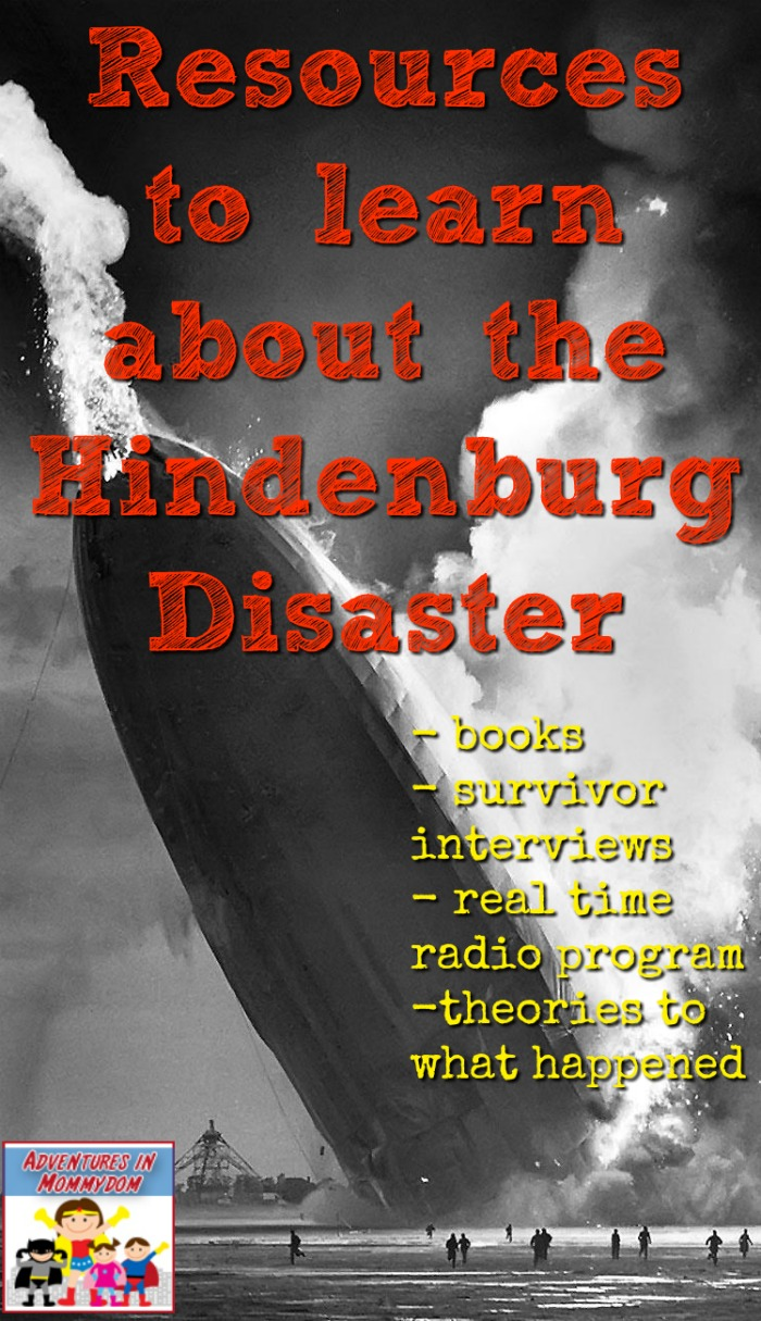resources to learn about the Hindenburg disaster