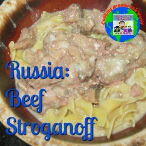 russia beef stroganoff recipe