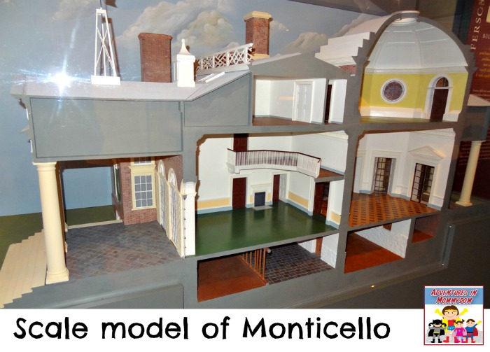 scale model of Monticello