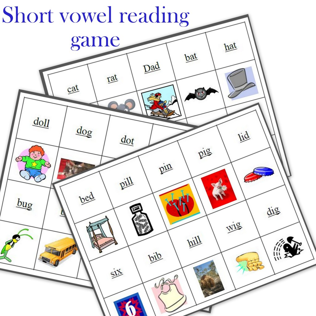 This is a graphic of Monster Printable Phonics Games