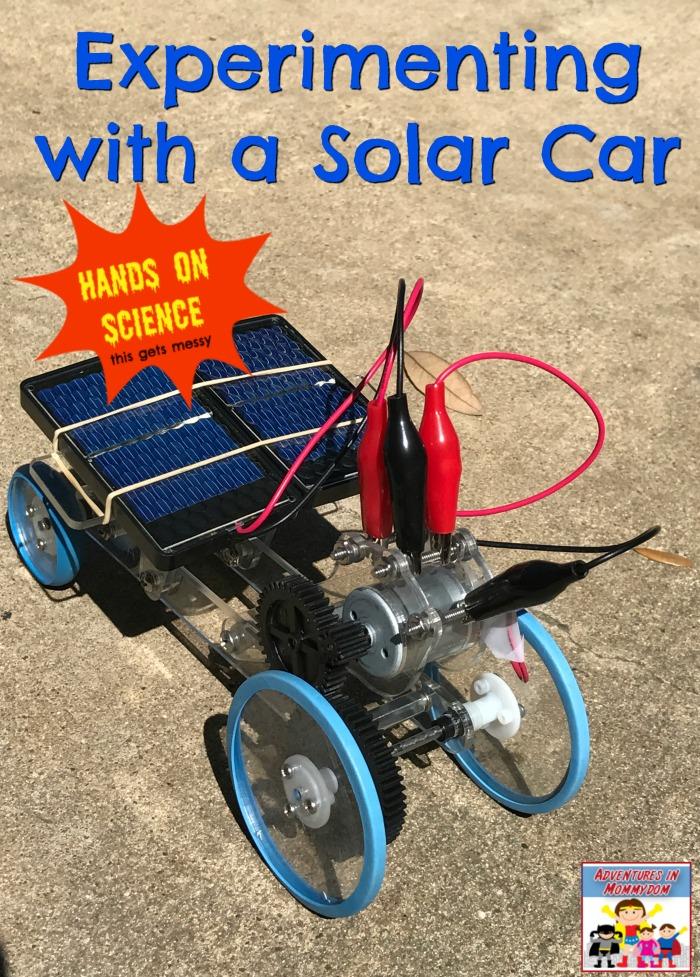 solar car experiment