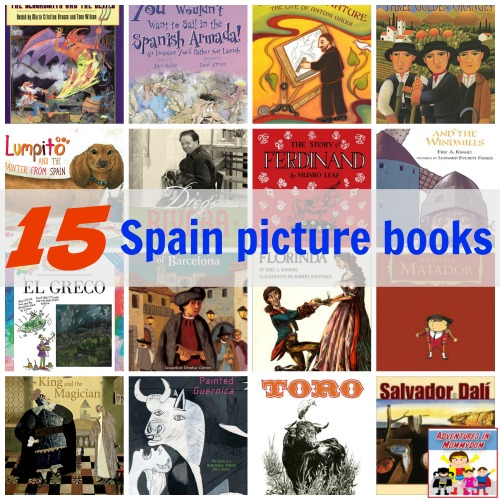 spain picture books