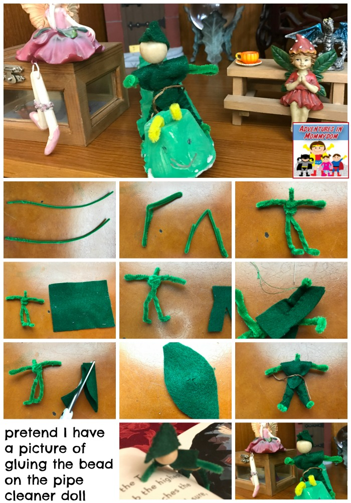 step by step pipe cleaner doll instructions