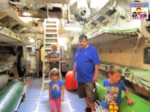 storage and sleeping in a world war 2 submarine