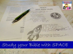 SPACE Bible Study