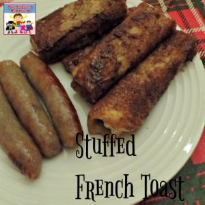 Make Stuffed French toast with your kids this year