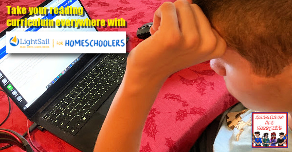 take your reading everywhere with lightsail for homeschoolers