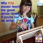 You need to teach great artists, here's how