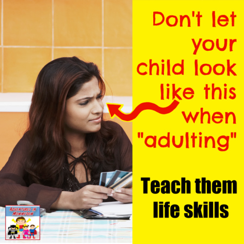 teach your kid life skills so they can adult