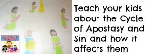 The Cycle of Apostasy lesson for kids
