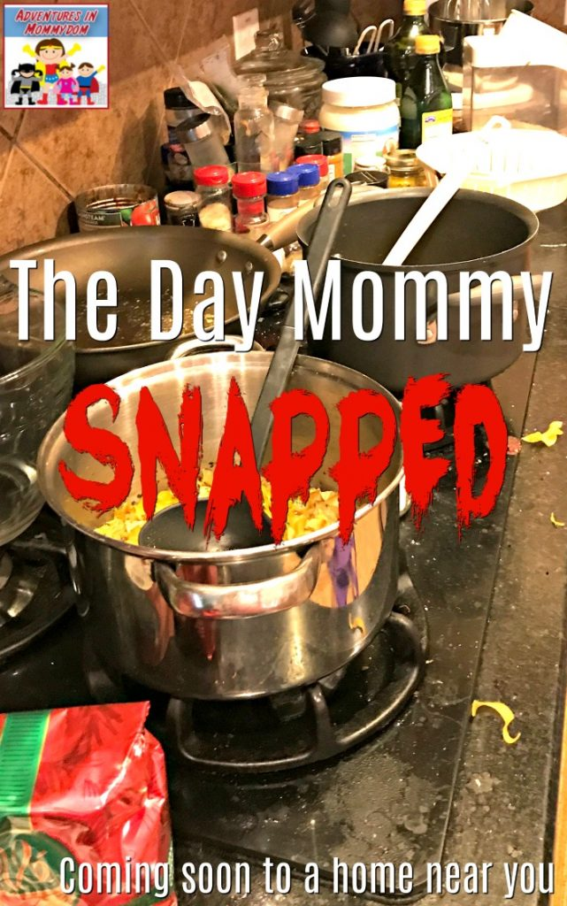 the day mommy snapped coming soon to a home near you