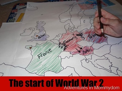 the start of World War 2
