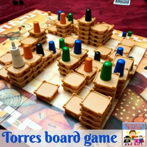 torres board game with kids