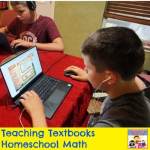 try teaching textbooks homeschool math curriculum