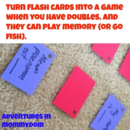 turn flashcards into a game