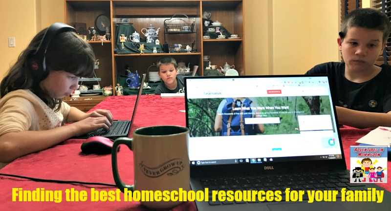 using Learnamic to find the right homeschool resources for your family