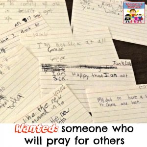 Teaching kids to pray for others in a way that isn't scary or uncomfortable