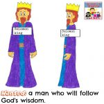 wanted wise man solomon object lesson