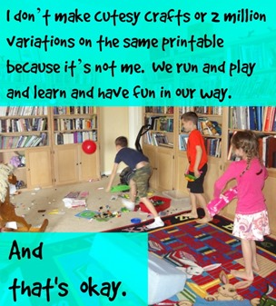 we run and play and learn and have fun in our way
