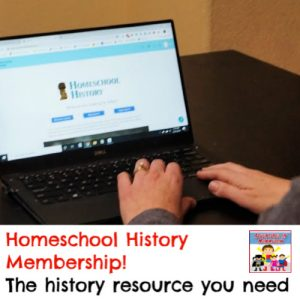 what you need for your homeschool history lessons