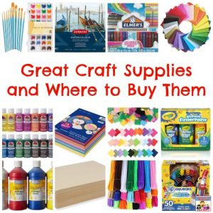 where to buy craft supplies for your kids
