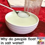 why do people float in salt water 4th