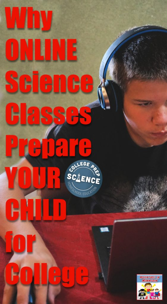 why online science classes prep for college