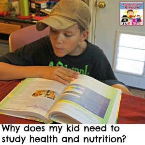 why study health and nutrition